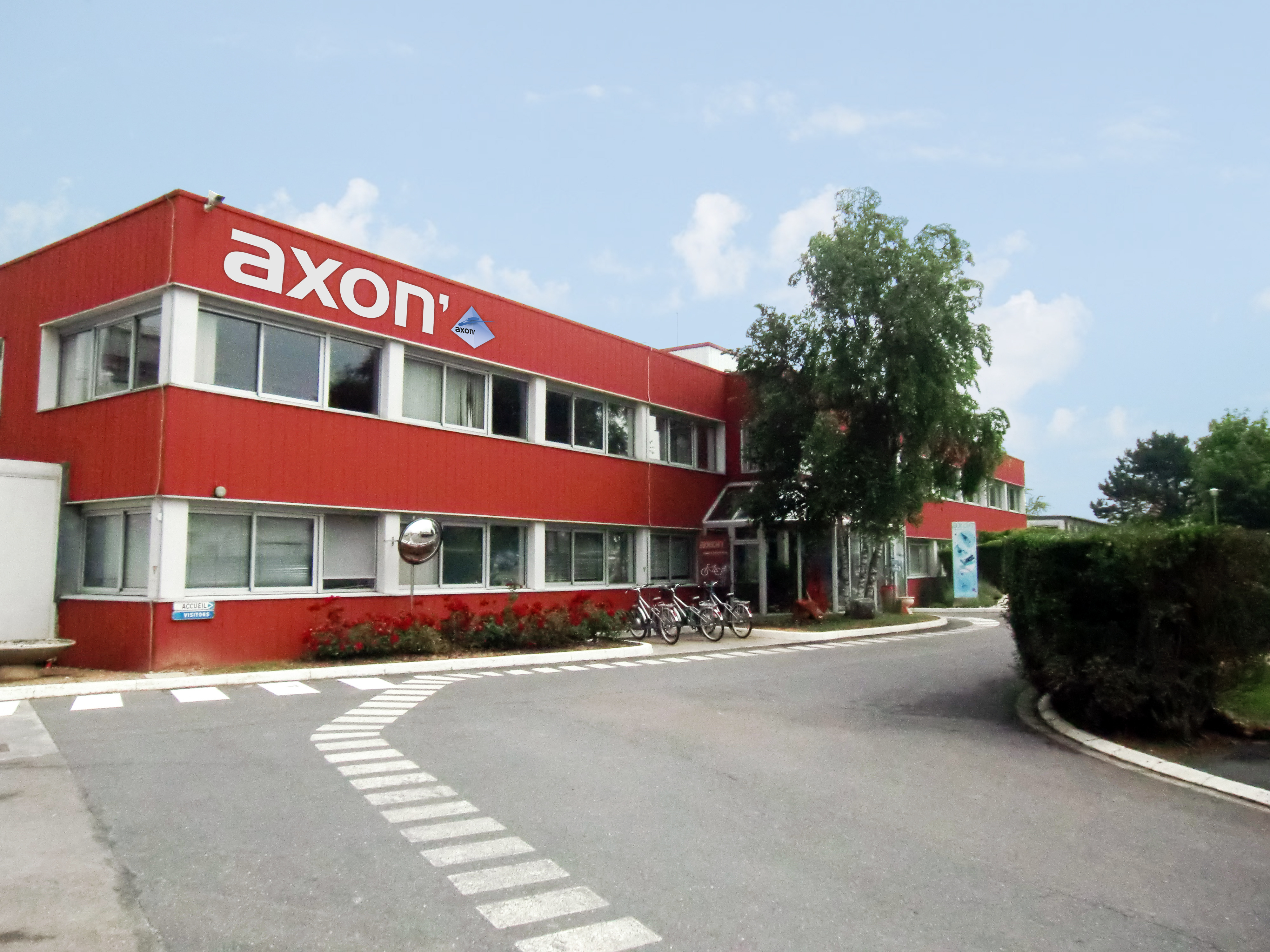 Axon'Cable equips itself with Steriall®